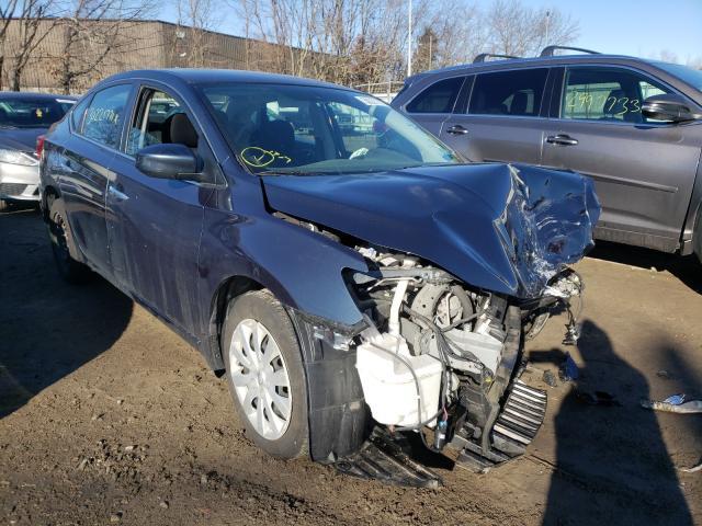 Vehiculos salvage en venta de Copart North Billerica, MA: 2016 Nissan Sentra S