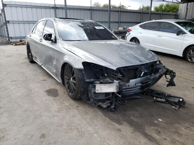 Salvage cars for sale from Copart Orlando, FL: 2015 Mercedes-Benz 550