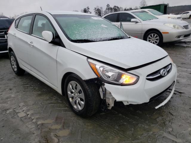 Salvage cars for sale from Copart Spartanburg, SC: 2017 Hyundai Accent SE