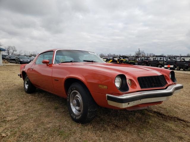 Chevrolet Camaro salvage cars for sale: 1977 Chevrolet Camaro