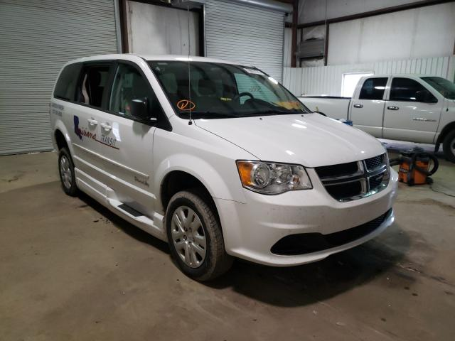 Salvage cars for sale from Copart Lufkin, TX: 2017 Dodge Grand Caravan