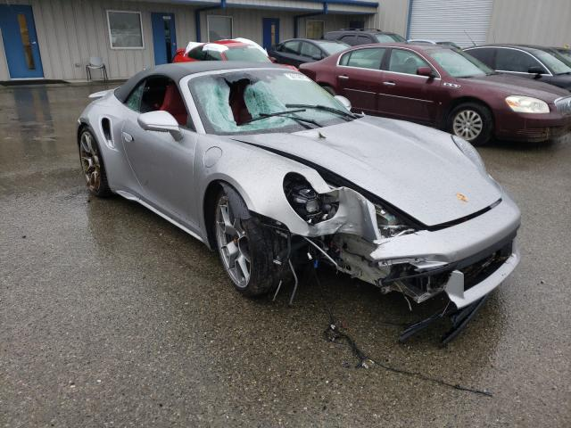 Porsche salvage cars for sale: 2021 Porsche 911 Turbo