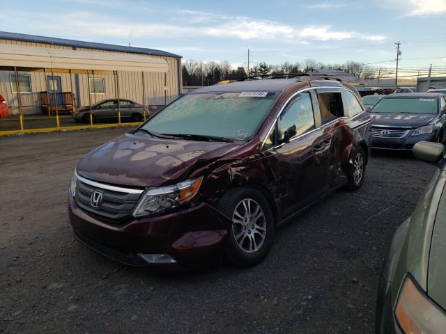 из сша 2012 Honda Odyssey Ex 3.5L 5FNRL5H67CB030560