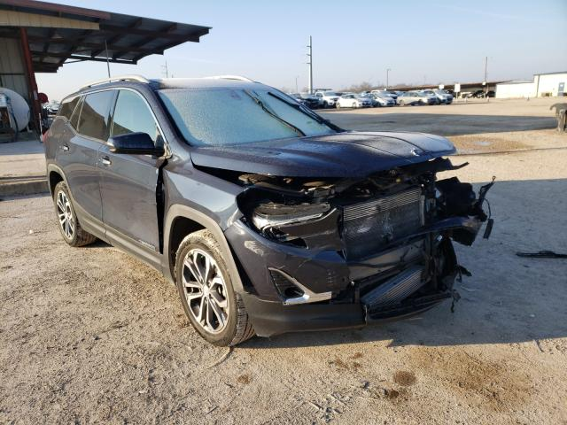 Salvage cars for sale from Copart Temple, TX: 2018 GMC Terrain SL