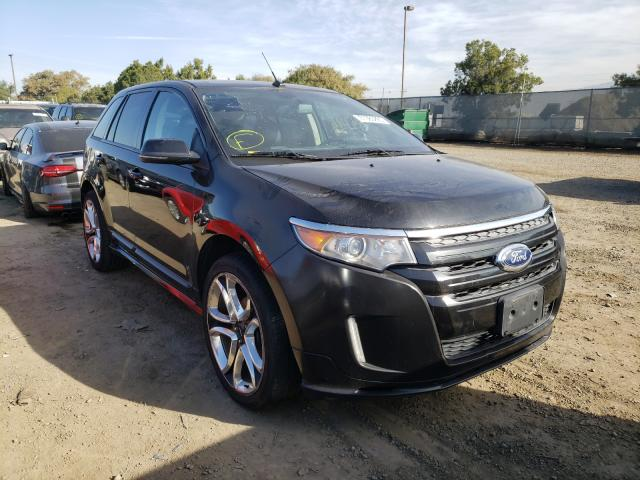 Salvage cars for sale from Copart San Diego, CA: 2013 Ford Edge Sport
