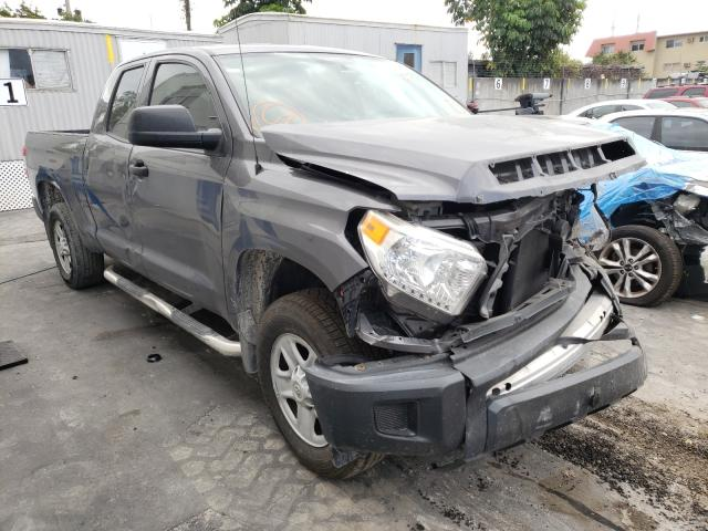 Salvage cars for sale from Copart Opa Locka, FL: 2015 Toyota Tundra DOU