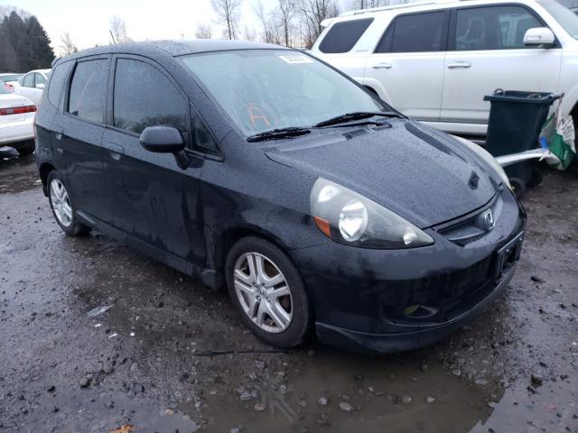 Vehiculos salvage en venta de Copart Portland, OR: 2007 Honda FIT S