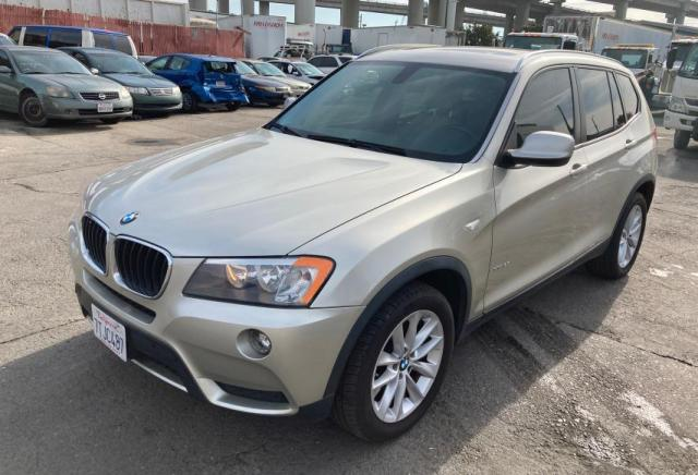 BMW X3 XDRIVE2 salvage cars for sale: 2013 BMW X3 XDRIVE2