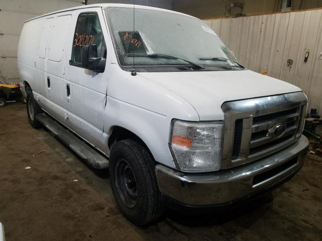 Salvage cars for sale from Copart Lyman, ME: 2011 Ford Econoline