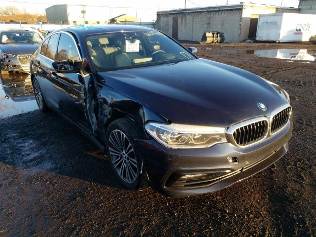 BMW Vehiculos salvage en venta: 2017 BMW 540 XI
