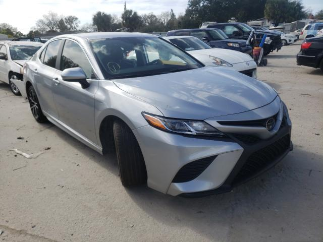 Salvage cars for sale from Copart Punta Gorda, FL: 2019 Toyota Camry L