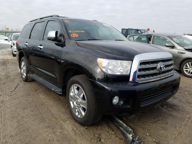 Salvage cars for sale from Copart Kansas City, KS: 2011 Toyota Sequoia PL