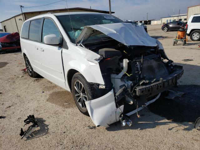 Salvage cars for sale from Copart Temple, TX: 2017 Dodge Grand Caravan