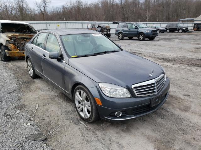 Salvage cars for sale from Copart York Haven, PA: 2011 Mercedes-Benz C 300 4matic