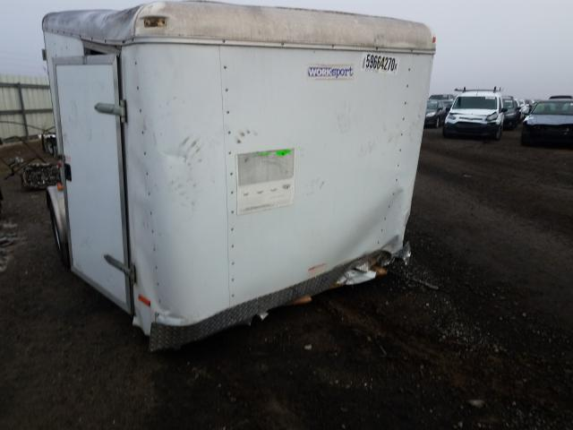Salvage cars for sale from Copart Martinez, CA: 2010 Pace American Trailer