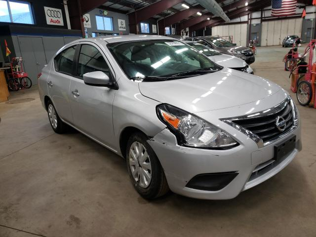 Salvage cars for sale from Copart East Granby, CT: 2019 Nissan Versa S