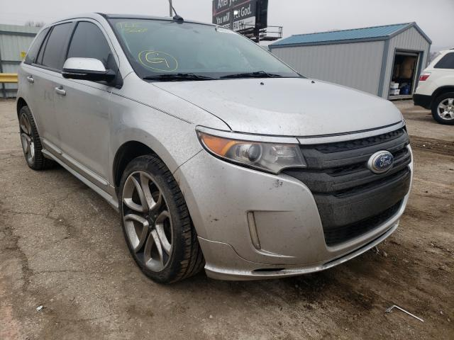 Salvage cars for sale from Copart Wichita, KS: 2013 Ford Edge Sport