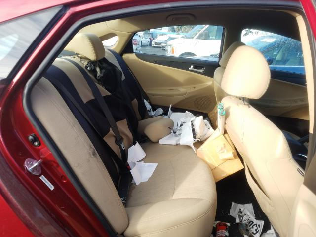 5NPEB4AC1BH042831 2011 Hyundai Sonata Gls 2.4L