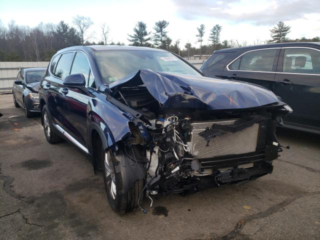Salvage cars for sale from Copart Exeter, RI: 2020 Hyundai Santa FE S