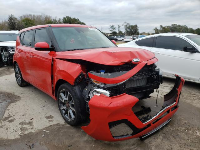 Salvage cars for sale from Copart Riverview, FL: 2020 KIA Soul GT LI