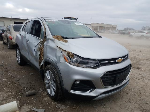 Salvage cars for sale from Copart Indianapolis, IN: 2017 Chevrolet Trax Premium