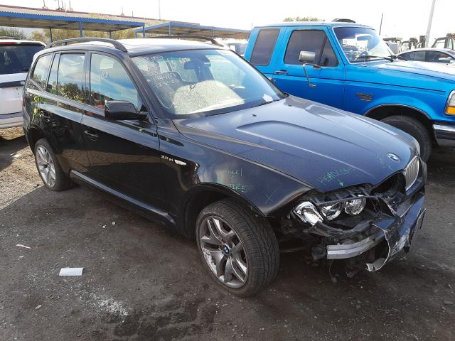 Salvage cars for sale from Copart Las Vegas, NV: 2007 BMW X3 3.0SI