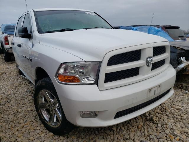 Salvage cars for sale from Copart Sikeston, MO: 2012 Dodge RAM 1500 S