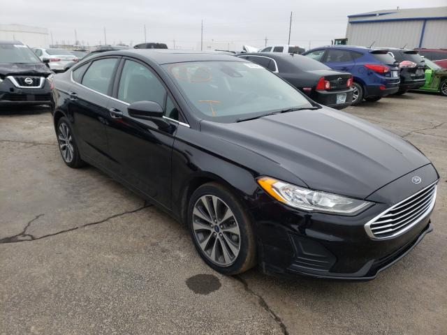 Salvage cars for sale from Copart Tulsa, OK: 2020 Ford Fusion SE
