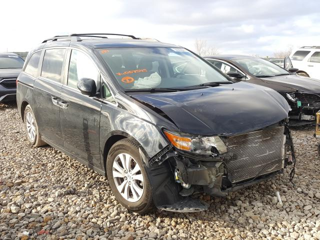 Salvage cars for sale from Copart Kansas City, KS: 2016 Honda Odyssey EX