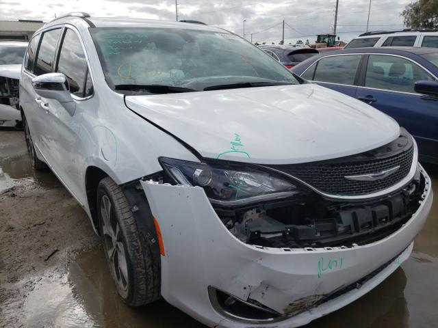 Salvage cars for sale from Copart Riverview, FL: 2019 Chrysler Pacifica L