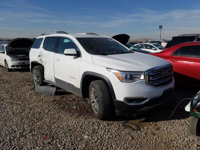 Salvage cars for sale from Copart Magna, UT: 2019 GMC Acadia SLE