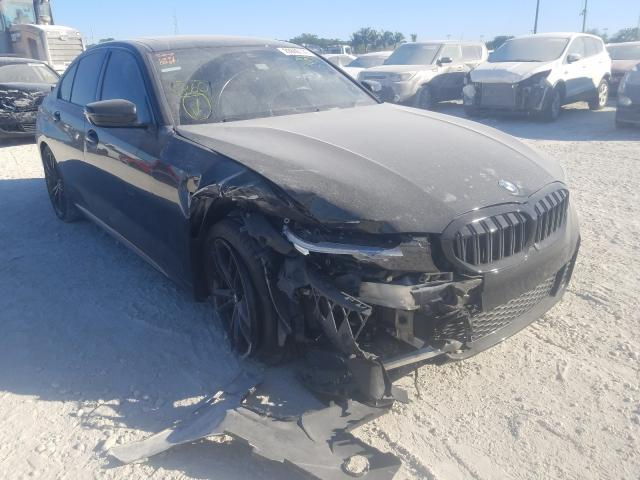 Salvage cars for sale from Copart Homestead, FL: 2019 BMW 330I