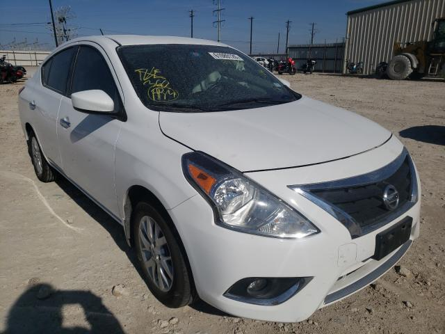Salvage cars for sale from Copart Haslet, TX: 2017 Nissan Versa S