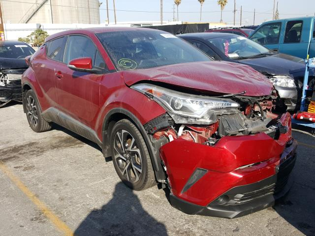 Salvage cars for sale from Copart Wilmington, CA: 2018 Toyota C-HR XLE