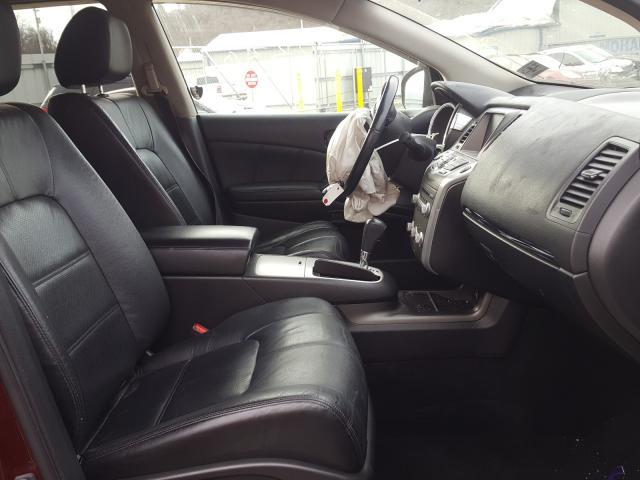 2011 Nissan MURANO   Vin: JN8AZ1MW9BW165130