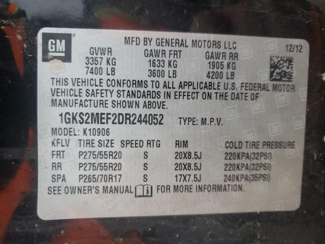 2013 GMC YUKON XL D 1GKS2MEF2DR244052