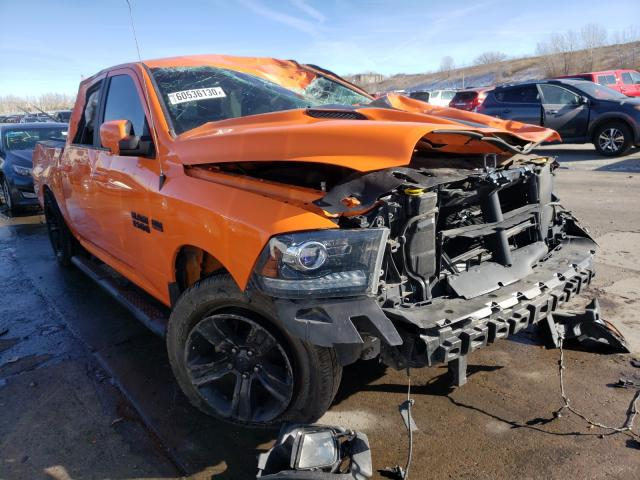 Vehiculos salvage en venta de Copart Littleton, CO: 2017 Dodge RAM 1500 Sport