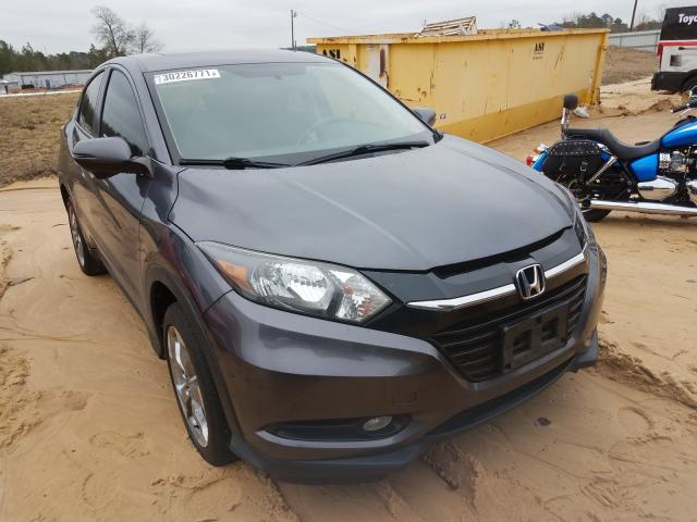 Salvage cars for sale from Copart Gaston, SC: 2017 Honda HR-V EX