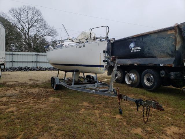Salvage cars for sale from Copart Newton, AL: 1989 Boat Marine
