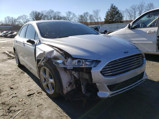 Salvage 2016 FORD FUSION - Small image. Lot 30102991