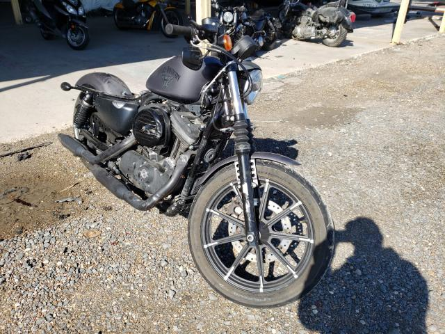 Salvage cars for sale from Copart Corpus Christi, TX: 2017 Harley-Davidson XL883 Iron