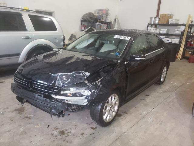из сша 2013 Volkswagen Jetta Se 2.5L 3VWDX7AJ9DM415718