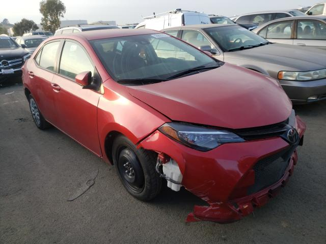Salvage cars for sale from Copart Martinez, CA: 2017 Toyota Corolla L