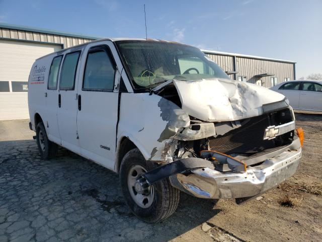 Salvage cars for sale from Copart Chambersburg, PA: 2006 Chevrolet Express G2