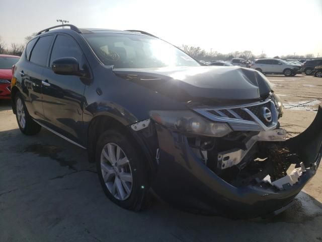 Salvage cars for sale from Copart Wilmer, TX: 2012 Nissan Murano S
