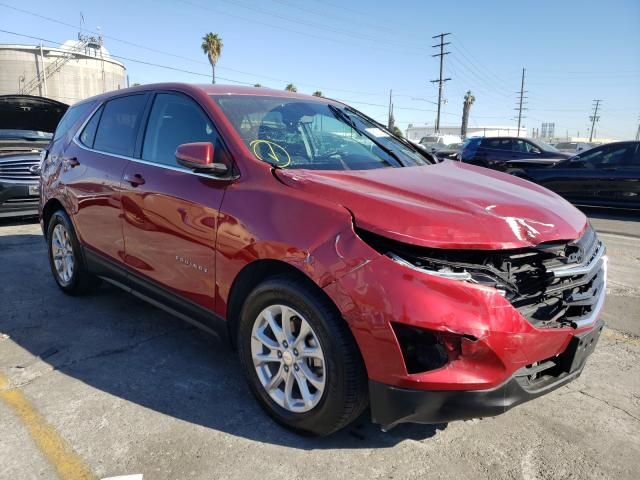 Salvage cars for sale from Copart Wilmington, CA: 2018 Chevrolet Equinox LT