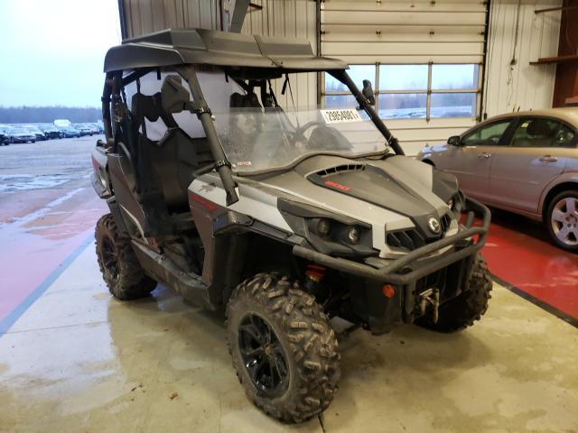 Can-Am Commander salvage cars for sale: 2017 Can-Am Commander