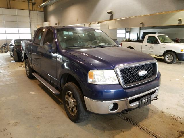 Salvage cars for sale from Copart Sandston, VA: 2007 Ford F150 Super