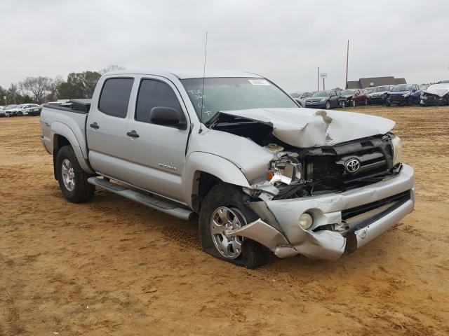 Salvage cars for sale from Copart Newton, AL: 2009 Toyota Tacoma DOU