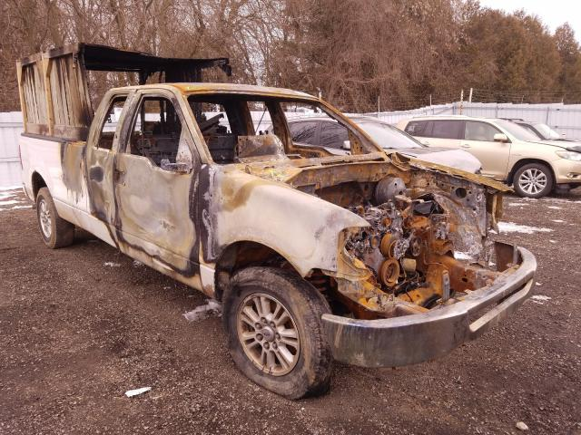 Salvage cars for sale from Copart Ontario Auction, ON: 2007 Ford F150